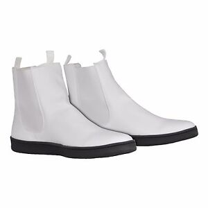 24f269e4f White Ankle Boots with Flat Sole for a First Order Stormtrooper ...