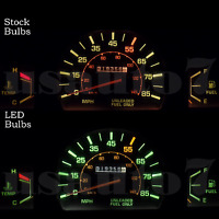 Dash Cluster Gauge White Leds Light Bulbs Kit Fits 79-88 Toyota Pickup Truck