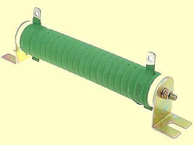 100R  5/% 100W Hochlast Widerstand Drahtwiderstand 200ppm  Ø28 x 151mm  #WP 1 pc