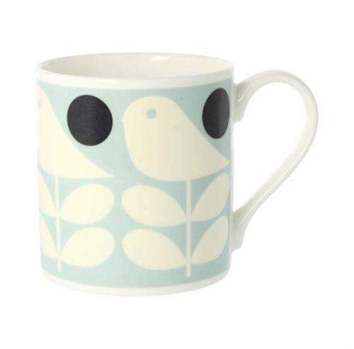 2 Orla Kiely Early Bird Light Blue Mugs