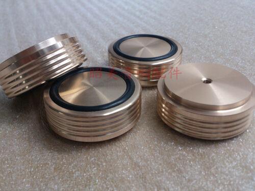 4pcs 44 *17mm With Screw Thread Audio Amplifier Speaker Feet Machine Mats Pads