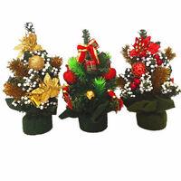 1pc Beautiful Mini Christmas Tree For Festival Xmas Party Decor 20cm