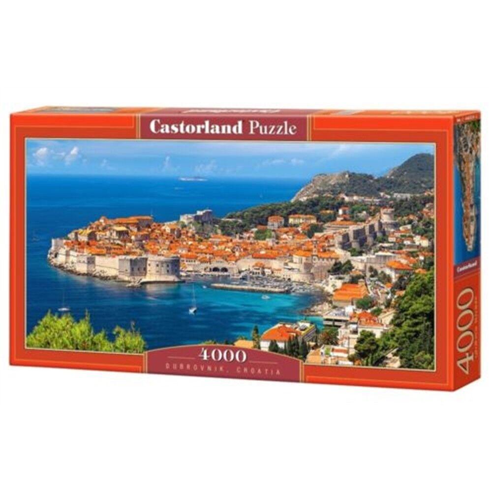 Dubrovnik, Croatia - 4000 Pieces - Castorland Dubrovnik C4002252 Puzzle