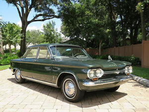 1964 Chevrolet Corvair Flat 6 4Speed Manual Owners Manual Warranty Book ect