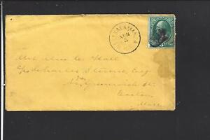 WEST-SALAMANCA-NEW-YORK-1870-039-S-BANKNOTE-COVER-LETTER-ENC-CATTARGUS-1873-1915