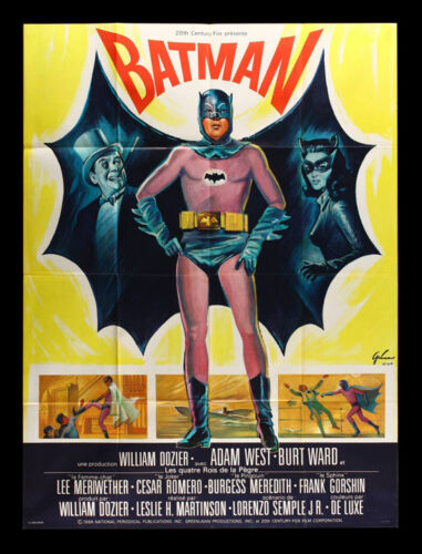 "Batman  Movie Poster  Replica 13x19/"" Photo Print"