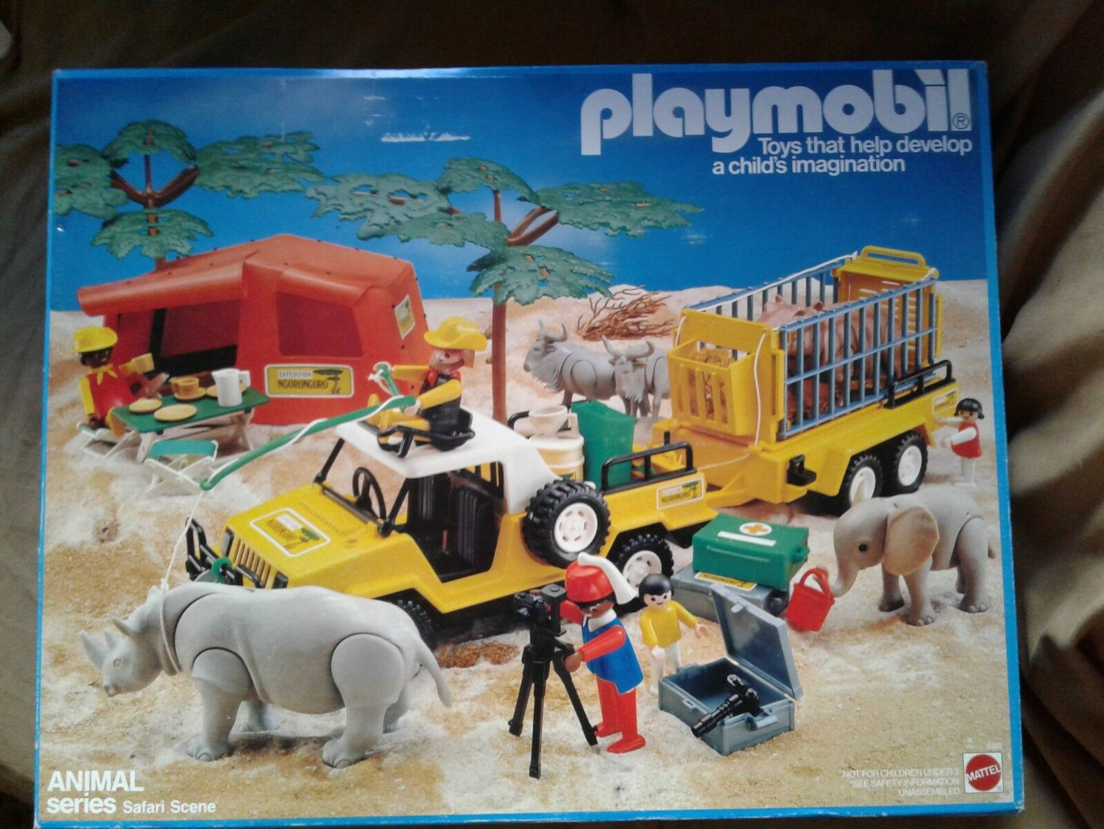 Playmobil Animal Series Safari scene