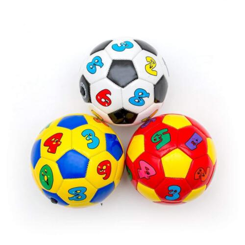 Children Baby Football Size 2 Kids Mini Soccer Ball Deflated Toy Alphabet Number