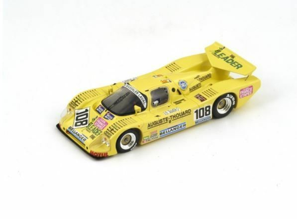 Sauber C6 - Y. Hervalet JF. Yvon H. Boujade - 24h Le Mans 1987  108 - Spark