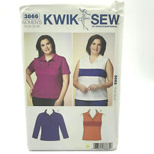 Kwik Sew K3754 Pattern Womens Plus Size Dress /& Tunic 1X-4X BN