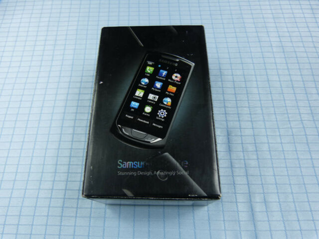 Samsung Monte GT-S5620 Dark Black! Neu & OVP! Ohne Simlock! Unbenutzt! RAR!