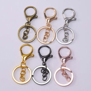 5PCS-DIY-Key-Rings-Key-Chain-Jewelry-Findings-Lobster-Clasp-Keyring-Making