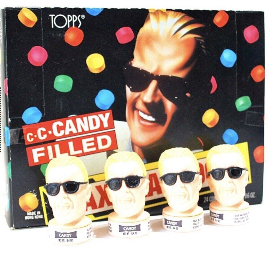 Ställ in 10 Maximal skärmdump för godis årgång 1987 Figur leksak Topps W