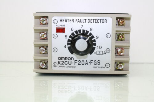 Omron K2CU-F20A-FGS Heater Fault Detector 220V AC Source Heater Voltage