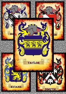 Family-Tree-Coat-of-Arms-Surname-Metal-Vintage-style-Ancestry-Metal-Wall-Hanger