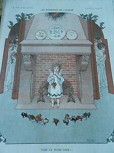 Les-Etrennes-de-l-039-Amour-Pour-la-Moins-Sage-petite-fille-Print-Art-Deco-1911