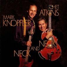 CHET ATKINS & MARK KNOPFLER - NECK AND NECK  CD 10 TRACKS COUNTRY / JAZZ  NEU