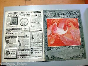 SCENA-ILLUSTRATA-n-168-1-7-1910-copertina-illustrata-da-Ezio-ANICHINI