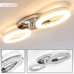 Plafonnier-LED-Design-Moderne-Lampe-a-suspension-Lustre-Lampe-de-corridor-Chrome