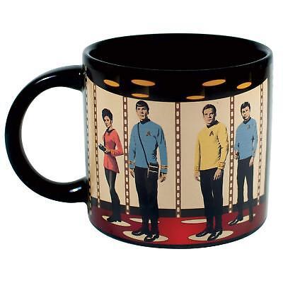 Star Trek Beyond Style Inspire Captain Kirk Mug 11oz Coffee Mug Tea Cup Gift
