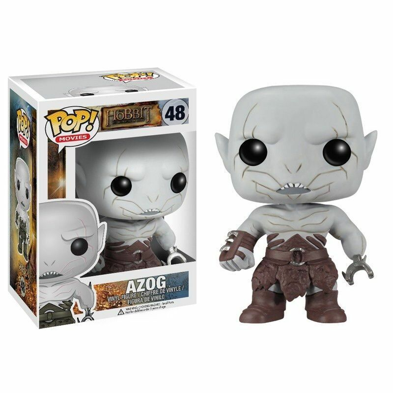 """Funko HOBBIT 2 AZOG 3.75"""" POP FIGURE LORD OF THE RINGS - DISCONTINUED"""