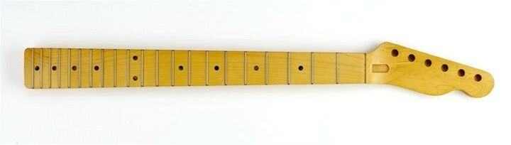NEW Fender Lic Allparts Telecaster NECK Tele Satin Maple, Stainless Steel TMSF-S