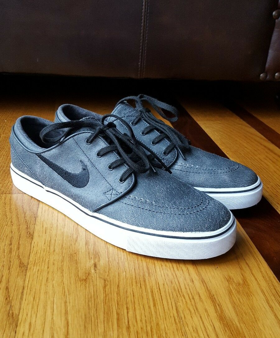Nike Mens Anthracite Black Nike Zoom Stefan Janoski Elite 725074 004 Comfortable Brand discount