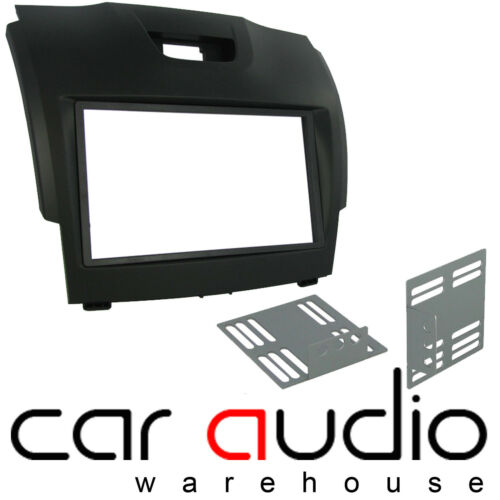 Connects2 CT23IZ02 Isuzu D-Max 2012 On Car Stereo Double Din Fascia Facia Panel