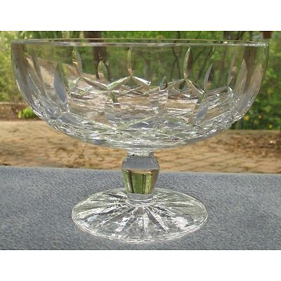 Waterford Irish Crystal LISMORE Pedestal Compote Footed Candy Bowl Mint