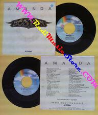 LP 45 7'' BOSTON Amanda My destination 1986 italy MCA 25 8555-7 no cd mc dvd