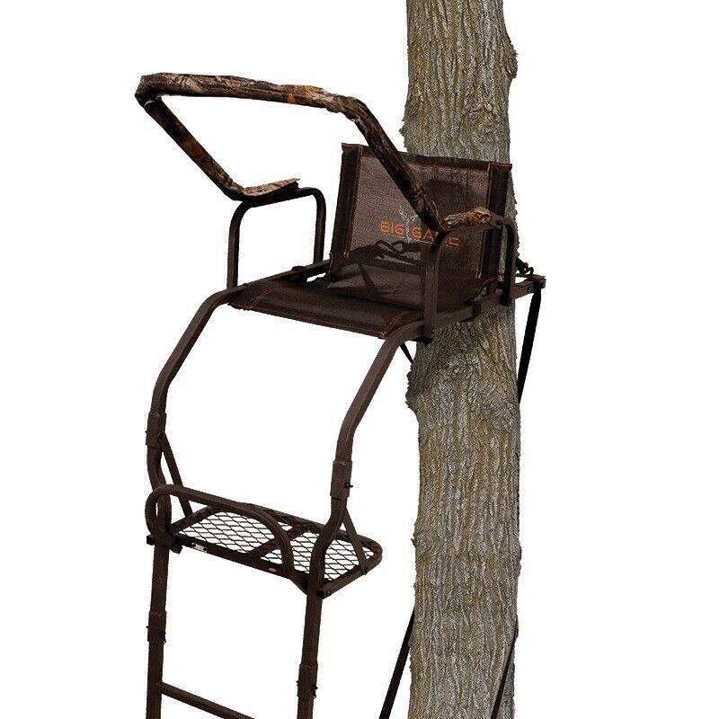 Big Game Treestands Warrior DXT Ladder Stand