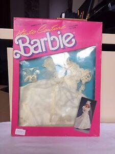 Collection de robes de mariée Barbie Haute Couture Mattel 1987 - Nuovo Unico