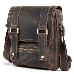 Vintage-Men-Leather-Shoulder-Bag-Work-Business-Crossbody-Messenger-Bag-Satchel