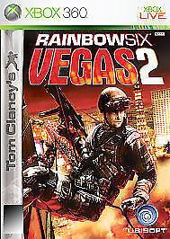 1 of 1 - Tom Clancy's Rainbow Six: Vegas 2 (Microsoft Xbox 360, 2008)