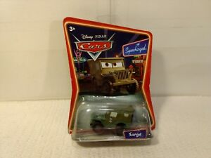 Mattel-Disney-Pixar-Cars-Sarge-1-64-Scale-Diecast-mb1125