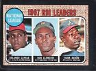 1968 Topps NL RBI Leaders #3 Baseball Card