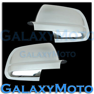 07-15-Toyota-Tundra-CrewMax-double-cab-Chrome-Full-Mirror-Cover-Pair-left-right