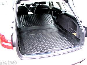 Boot-liner-dog-load-mat-or-bumper-protector-Audi-A6-C7-avant-estate-3pc-rubber