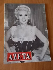 AZETA-n-8-1954-Martine-Carol-Rhonda-Fleming