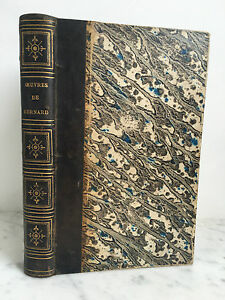 Oeuvres-Di-Carino-Bernard-Poesia-1823-Stampa-Parigi-Janet-E-Cotelle