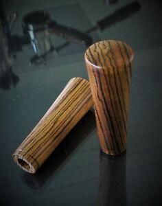Bois Poignée Set Pour La Pavoni Europiccola/romantica Noyer/zebra Wood-afficher Le Titre D'origine