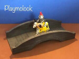 Parties de Playmobil peintes à la main d'impression de pont en pierre 3d non incluses