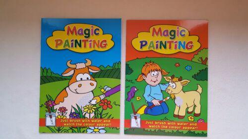 chicos usar agua Regalo crear arte Libro De Pintura Mágica Brocha Y Chicas elija diseñar