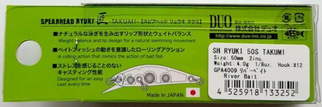 3184 Duo Spearhead Ryuki 50S Takumi Sinking Lure ADA4068