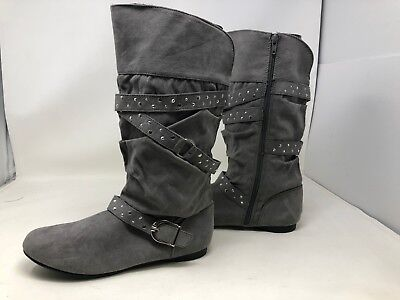 NEW Canyon River Blues Youth Girl/'s Noel Fashion Boots Black #66488 J7BC m