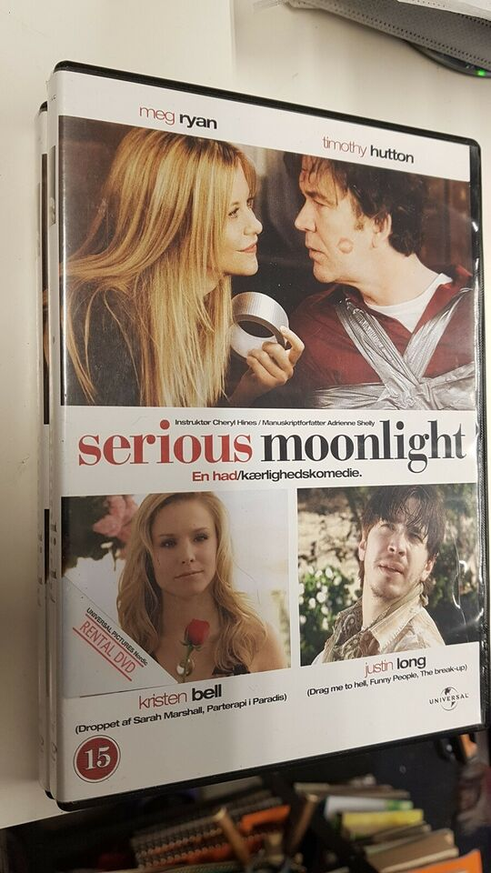 Serious moonlight, DVD, komedie