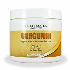 Dr. Mercola Curcumin for Pets - Supports Normal Immune Response - 4.31 oz powder