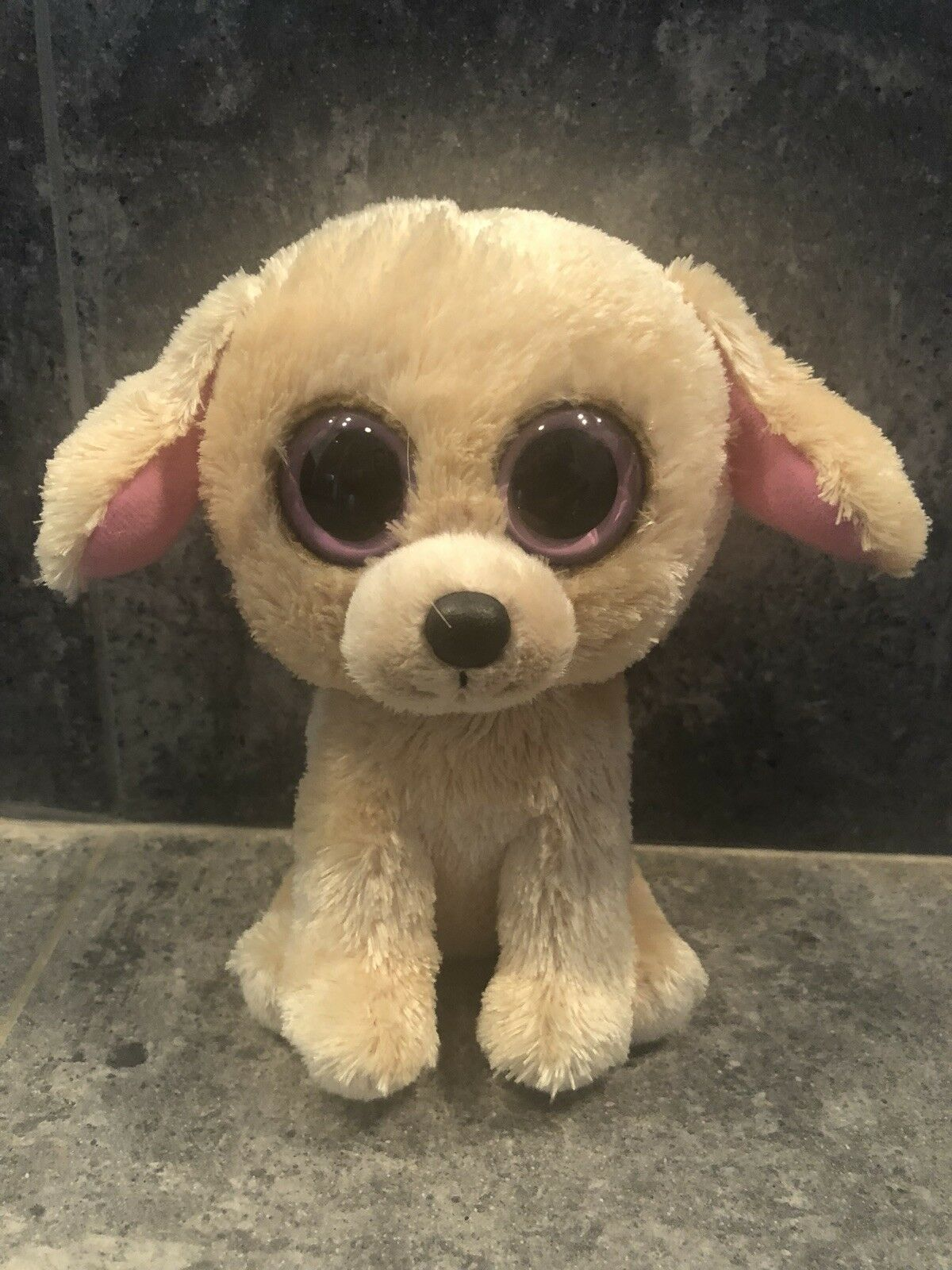 AUTHENTIC PredOTYPE Beanie BOO BEIGE PUPPY Museum Quality Rare