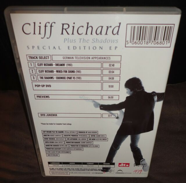 Cliff richard & the shadows cd: live at the abc kingston 1962.