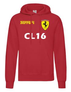 Felpa-con-cappuccio-Ferrari-Formula-Uno-034-CL16-034-Leclerc-F1-Inspired